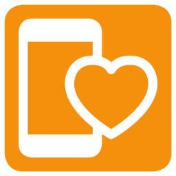 Mobile, Love, Heart, Favorite, Like Icon png