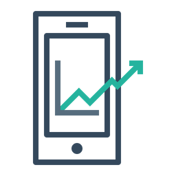 Mobile, Marketing, Growth, Chart, Management Icon png
