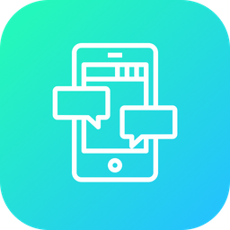 Mobile, Message, Communication, Chat, Chatting, Seo, Tool, Optimization Icon
