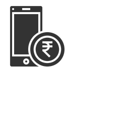 Mobile, Money, Currency, Coin, Indian, Rupee, Payment Icon png