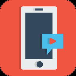Mobile Video Icon