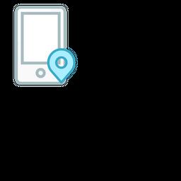 Mobile Colored Outline Icon