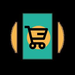 Mobile, Profit, Discount, Offer, Sale, Finance, Ecommerce, Device, Shop, Cart Icon