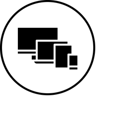 Mobile, Tab, Laptop, Computer, Electronic, Device, Technology Icon