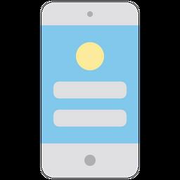 Mobile ui Icon