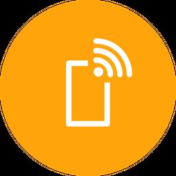 Mobile, Wifi, Wireless, Internet, Data, Connection, Hotspot Icon
