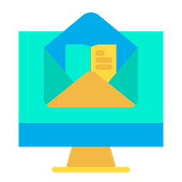 Monitor Notebook Icon