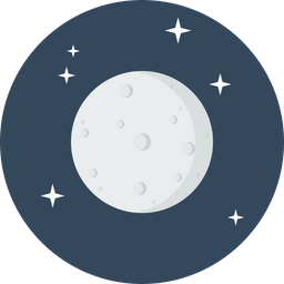 Moon, Planet, Astrology, Solar, System, Satelite, Natural Icon png
