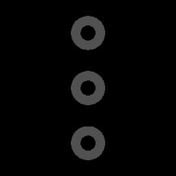 More, Functions, Menu, Vertical, Dots, Hidden Icon