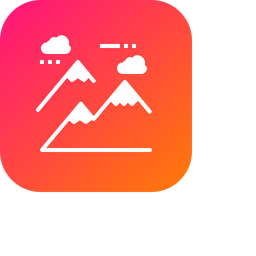 Mountain, Climbing, Nature, Landscape, Hill, Station, Tracking Icon