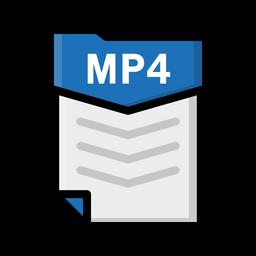 無料ダウンロード Mp4 File 無料素材アイコン