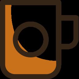 Mug Colored Outline Icon