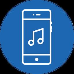 Music, Tune, Ringtone, Song, Audio, Melody Icon