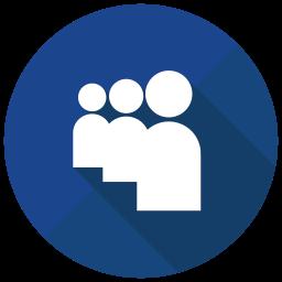 Myspace Flat  Logo Icon
