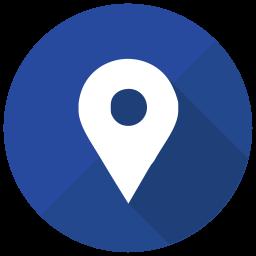 Navigation Flat  Logo Icon