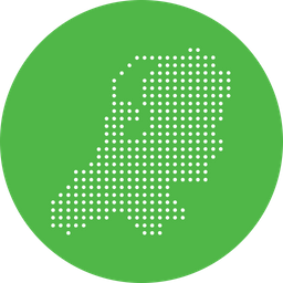 Netherlands, Netherland, Dutch, European, Country, Map, Location, Nation Icon