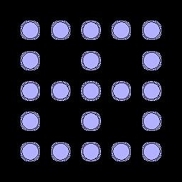 None-border Flat Icon