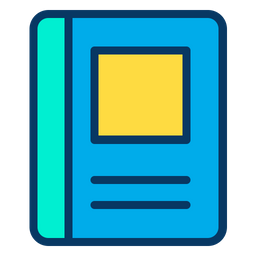 Note book Colored Outline Icon