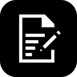 Note Glyph Icon