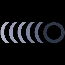 O Flat  Logo Icon