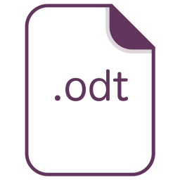 Odt, File, Document, Extension, Filetype Icon