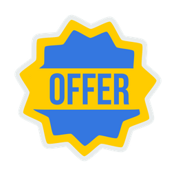 Offer, Discount, Label, Sticker, Tag, Coupon, Shop, Shopping Icon