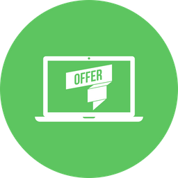 Offer, Sale, Discount, Laptop Icon png