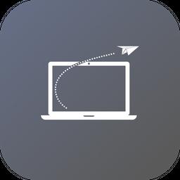 Offer, Sale, Discount, Laptop, Rocket, Goal, Progress Icon