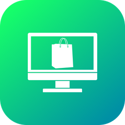 Offer, Sale, Discount, Laptop, Shopping, Bag Icon