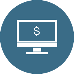 Offer, Sale, Discount, Lcd, Monitor, Desktop, Dollar, Money Icon