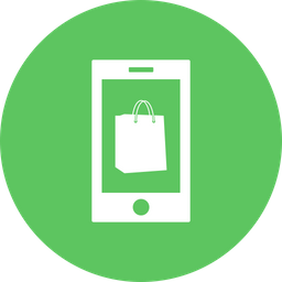 Offer, Sale, Discount, Smartphone, Mobilephone, Shopping, Bag Icon