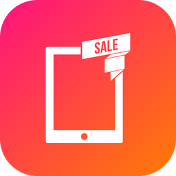 Offer, Sale, Discount, Tablet, Tab Icon