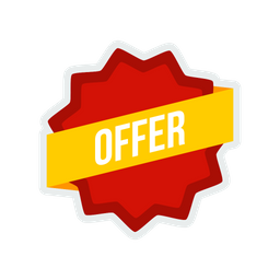 Offer, Sale, Shop, Shopping, Label, Sticker, Tag Icon