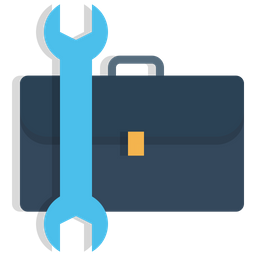 Office, Bag, Carry, Setting, Manage, Preferences, Repair Icon