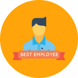 Office, Best, Employee, Person, User, Avatar, Man Icon