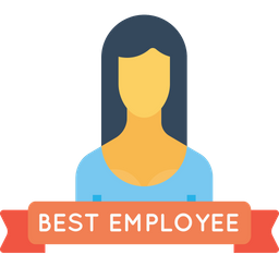 Office, Best, Employee, Person, User, Avatar, Woman Icon