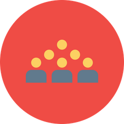 Office, Business, Corporate, Structure, Team, Group, Empire Icon