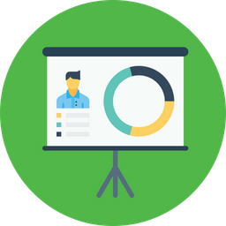 Office, Business, Employee, Performance, Statics, Chart, Bio Icon