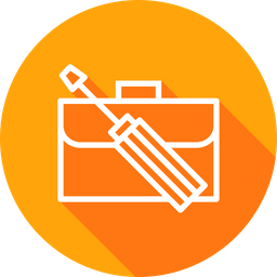 Office, Carry, Bag, Repair, Manage, Preferences, Setting Icon