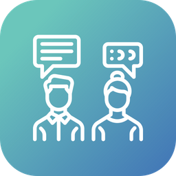 Office chatting Icon