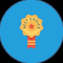 Office, Employee, Award, Best, Winner, Reward, Badge Icon