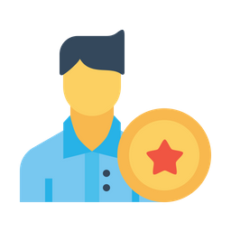 Office, Employee, Man, Avatar, User, Bedge, Award, Reward, Best Icon