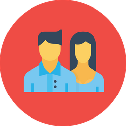 Office, Employee, Man, Woman, Lady, Team, Person, People Icon