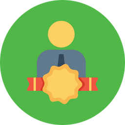 Office, Employee, Person, User, Avatar, Bedge, Award Icon