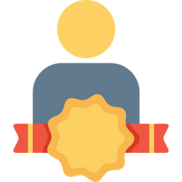 Office, Employee, Person, User, Avatar, Bedge, Award, Copy Icon
