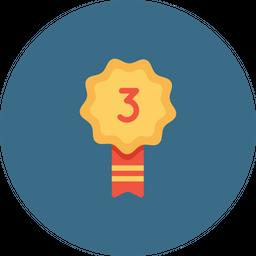 Office, Employee, Rank, Achievement, Position, Second, Runnerup, Third Icon