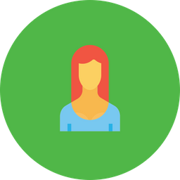 Office, Employee, Woman, User, Avatar, Person, Lady Icon