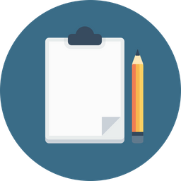 Office, Letterpad, Pencil, Notepad, Notes, Writingpad, Write Icon