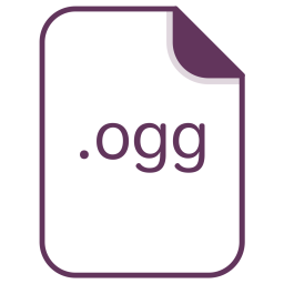 Ogg, File, Document, Extension, Filetype Icon