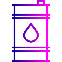 Oil, Industry, Can, Container, Cylinder, Delivery Icon